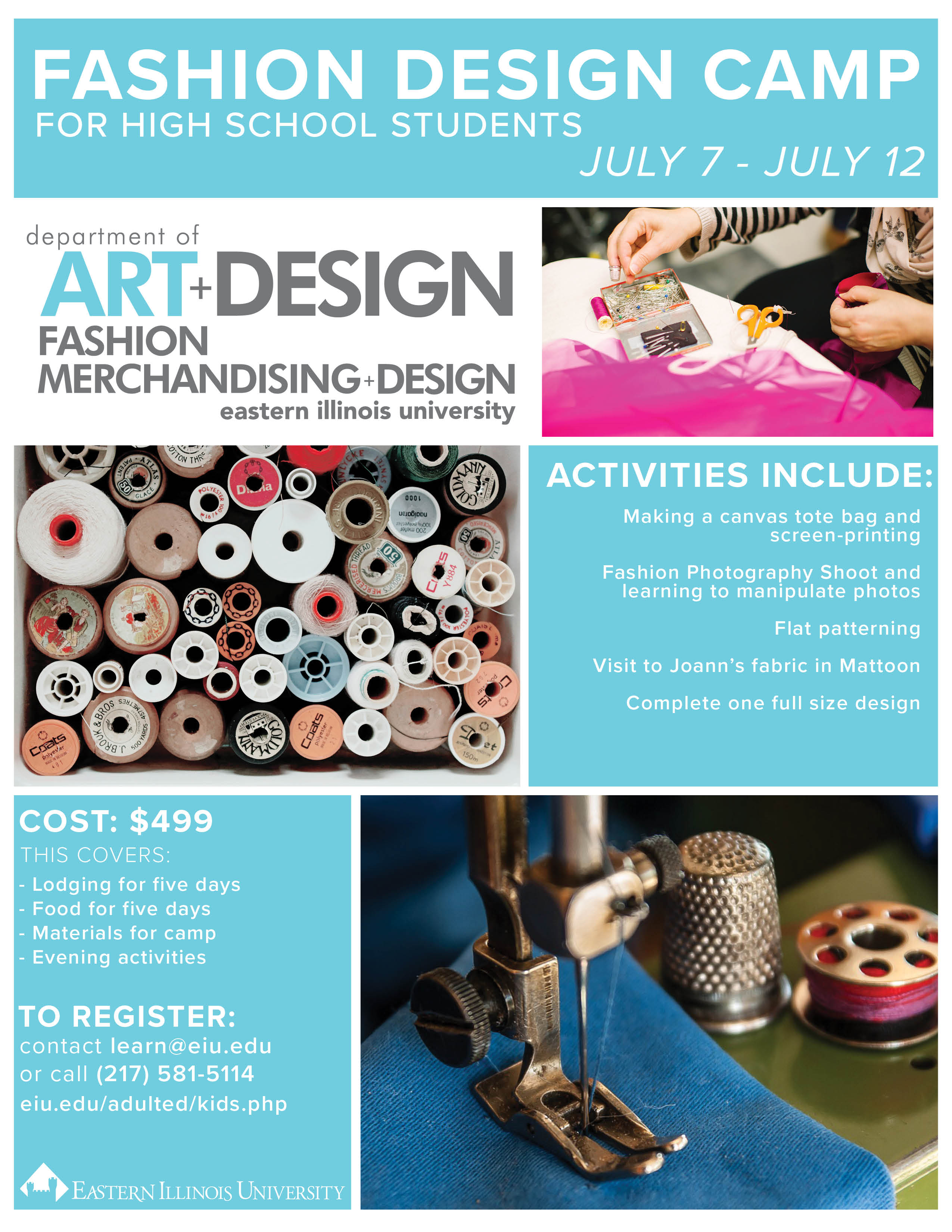 Fashion Design Camps For Middle School Students School Style