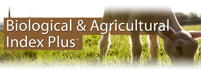 Biological & Agricultural Index Plus