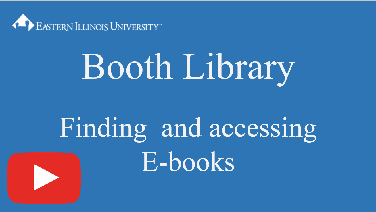 ebooks tutorial screenshot