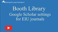 Google Scholar settings thumbnail