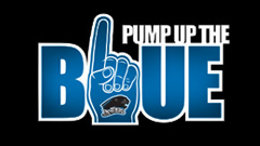 EIU Pump Up the Blue Homecoming 2012 Logo