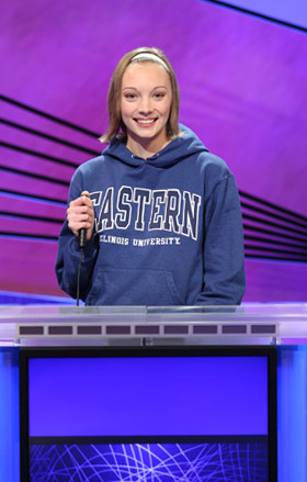 Anne Rozek on 'Jeopardy!'