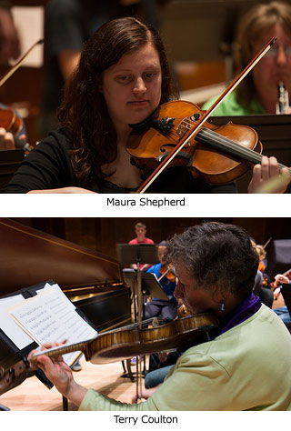 Maura Shepherd and Terry Coulton