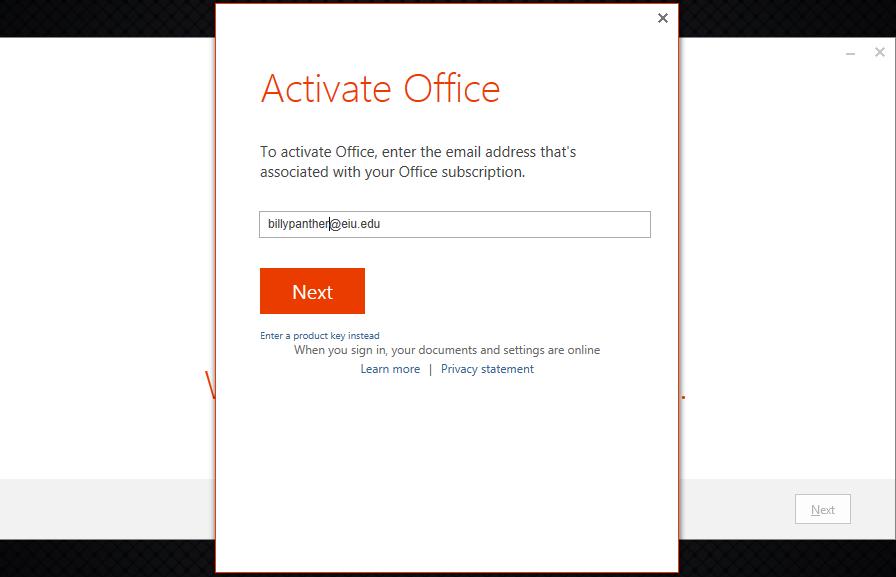 redeem office 365 product key